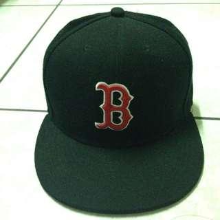 紅襪 大聯盟 棒球帽 黑色