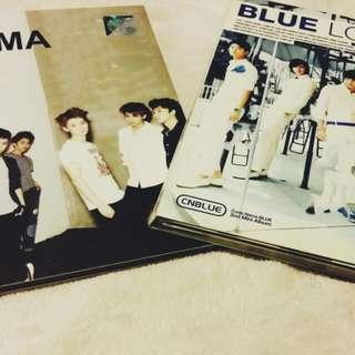 CN BLUE & EXO MAMA Album
