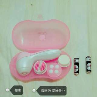(轉賣 含運)降價 洗臉機 附贈電池