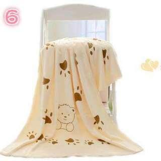 超吸水超細纖維浴巾((加厚))