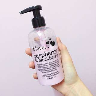 I Love... Raspberry & Blackberry Moisturizing Body Lotion