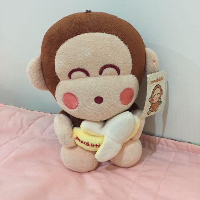 抱香蕉的猴子
