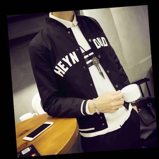 秋裝外套新款立領夾克休閒上衣潮韓版修身薄棒球服