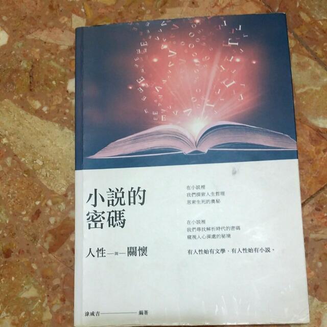 小說的密碼 英文系用書
