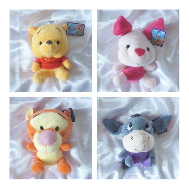 【全新】小熊維尼 Winnie the Pooh BEAR 迪士尼 小豬 跳跳虎 屹耳 治癒娃娃玩偶可愛布偶 生日禮物