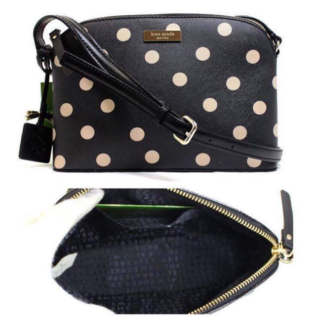 Bnwt kate spade polka dot brightwater hanna drive ladies photo photo junglespirit Gallery