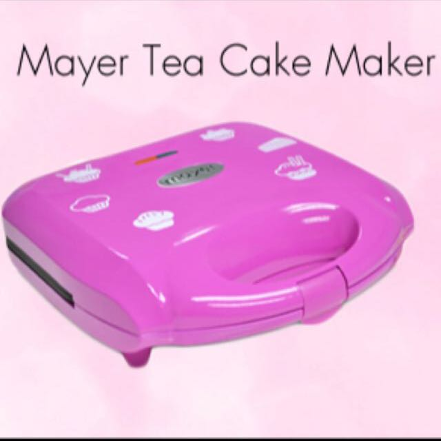 BNIB Mayer Tea Cake Maker
