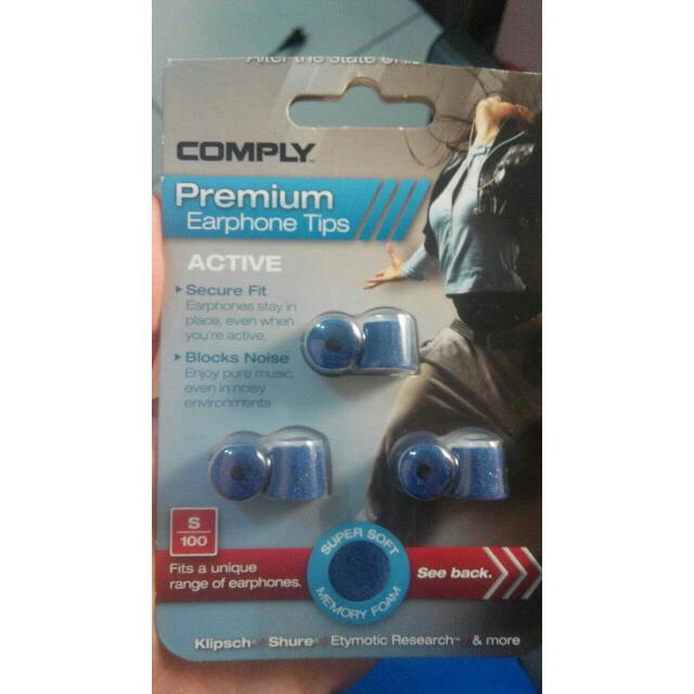 COMPLY S100 耳機的耳塞
