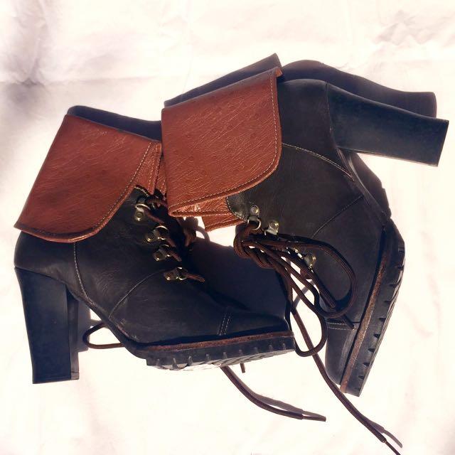 Costum Made Dark Brown Boots