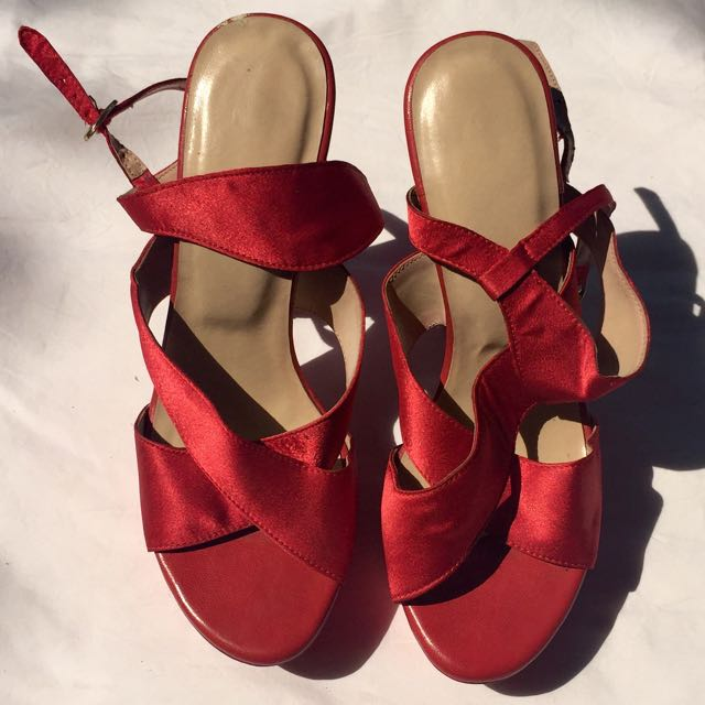 Costum Made Red Heels