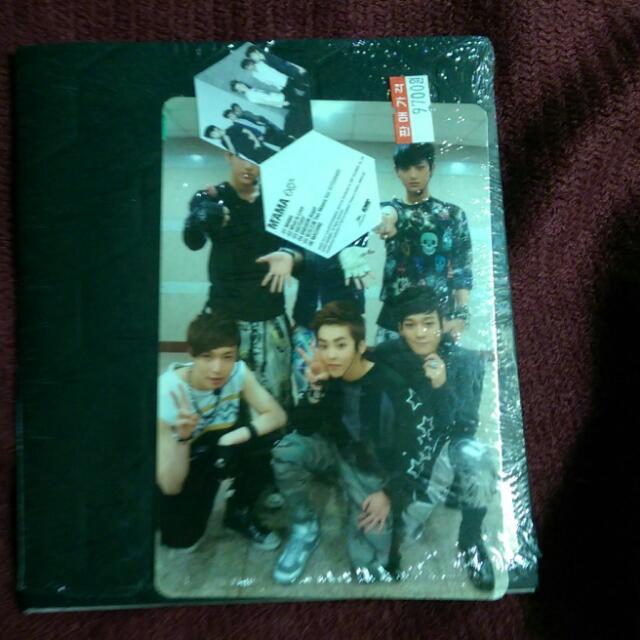 EXO-M - 1st mini album《MAMA》韓版
