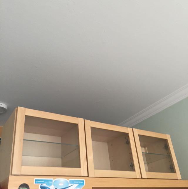 Ikea Wall Mount Display Cabinet Furniture On Carousell