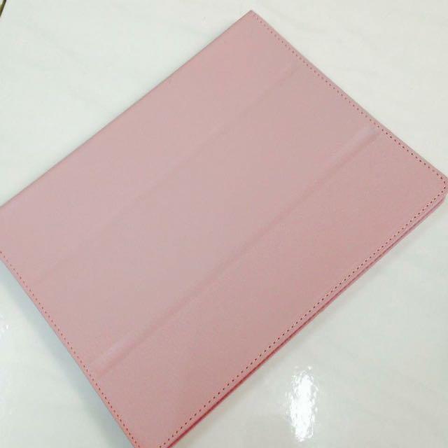 iPad 2 淡粉紅色保護殼 原廠款式 可立起