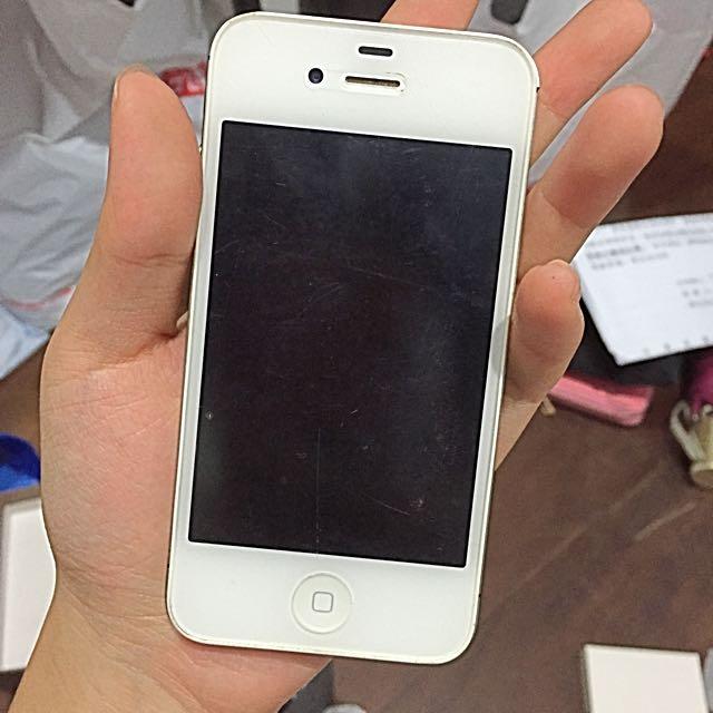 保留)iphone 4白色