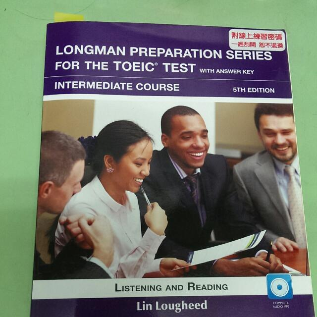 Longman Preparation Series For The Toeic Test  Intermediate Course