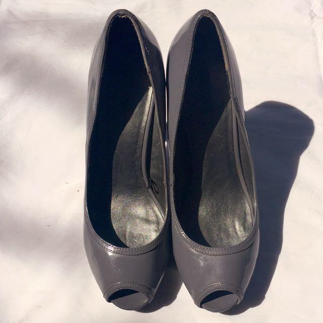 Mango Grey High Heels