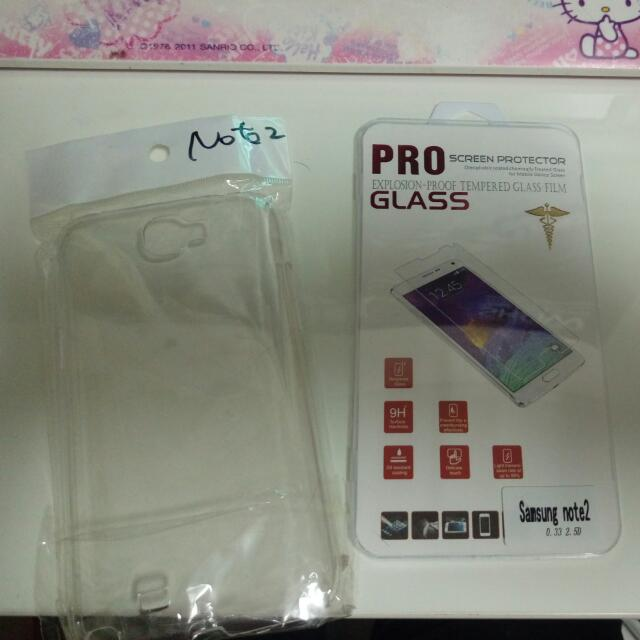 No2 玻璃貼跟透明殼