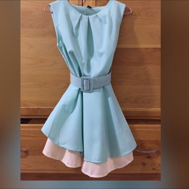 全新Tiffany綠色洋裝