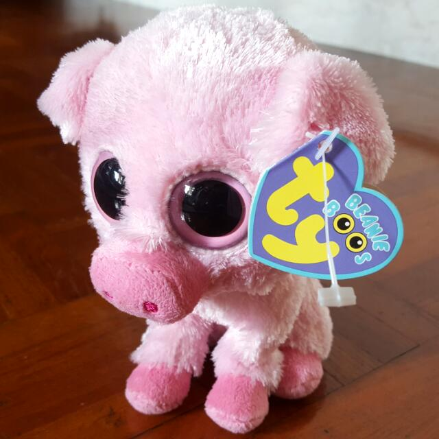 Ty Beanie Boo Corky Pig bc8bf74beff2