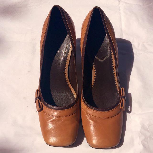Zara Brown Heels