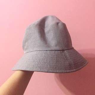 灰色漁夫帽(含運)