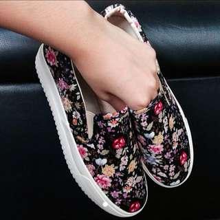 Floral Slip Ons