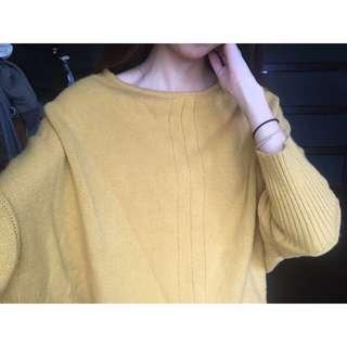 飛鼠袖毛衣