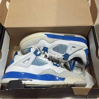 (待匯款)正品二手 Air Jordan 4 四代 北卡藍 女鞋 WMN