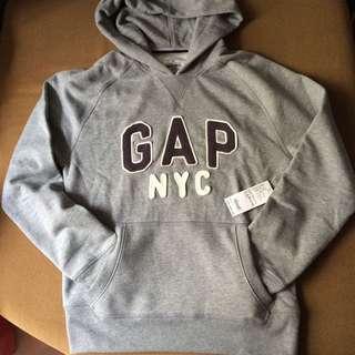 🚚 特價出清~美國GAP 厚棉帽T 灰色 尺寸M L XL 僅一件