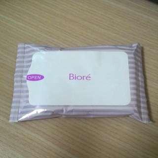 Biore卸妝濕紙巾