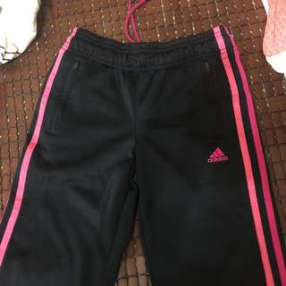 正版Adidas鋪棉運動褲(二手)