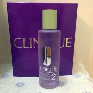 Clinique 倩碧紫色2號水