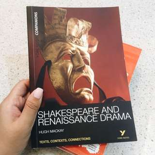 IB/IP Drama, English Literature -- York Notes for Shakespeare & Renaissance Drama