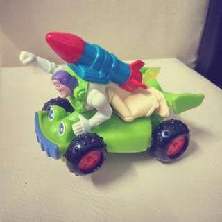 玩具總動員 Toy Story 巴斯光年 火箭 遙控車 麥當勞早期玩具 絕版