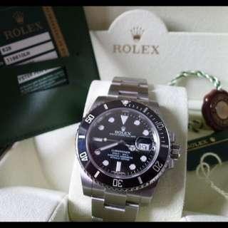 Rolex 116610 LN 黑水鬼 公司貨