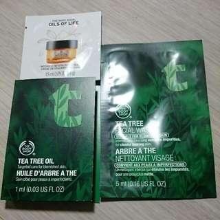 The Body Shop茶樹體驗組