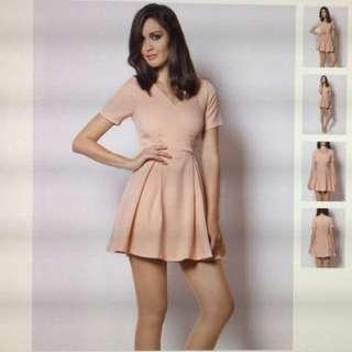 (BNWT) Nude Skater dress - Size L