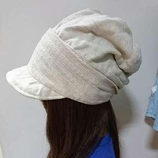 Bonita米白造型帽