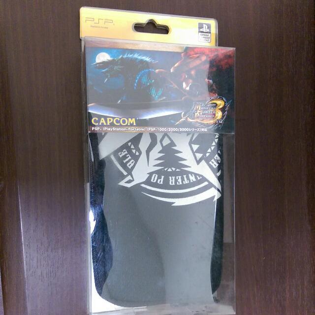 魔物獵人3 雷狼龍 主機包(psp)