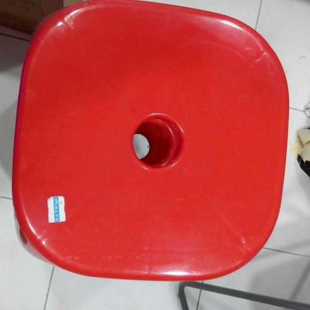 購買3張可捷運站面交] 板凳/點心椅/塑膠椅/備用椅/高級厚料塑膠板凳/四方塑膠椅/麻將椅