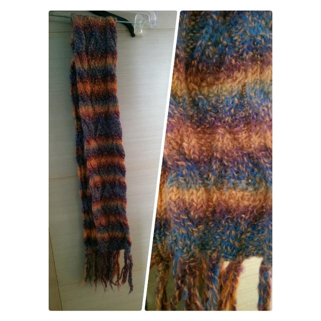 編織毛圍巾