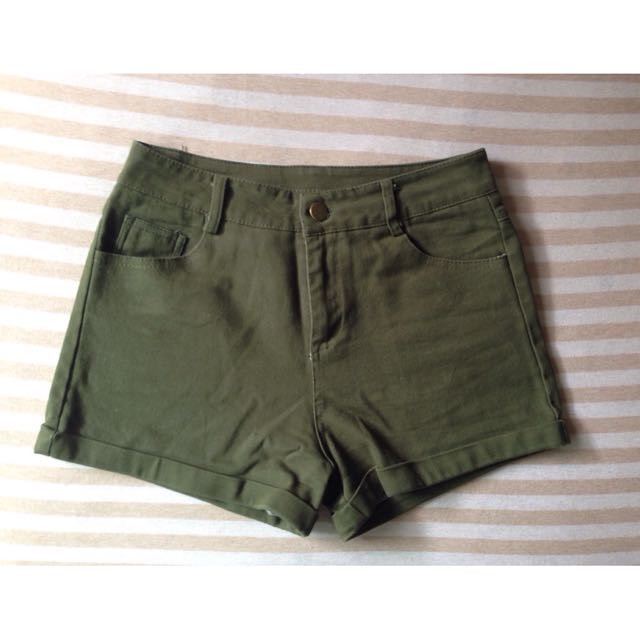 [二手/九成新✨]軍綠短褲