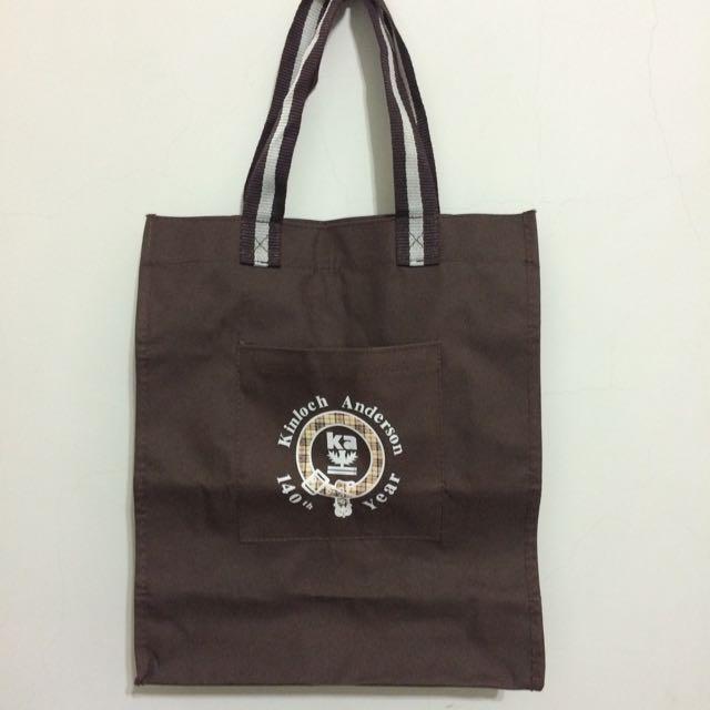全新✨咖啡色提袋