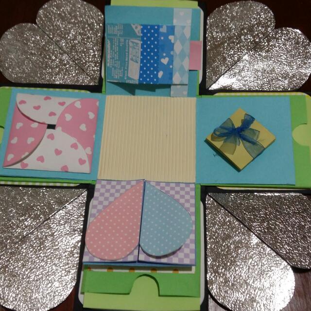 多種機關卡片禮物盒(情人節首選)