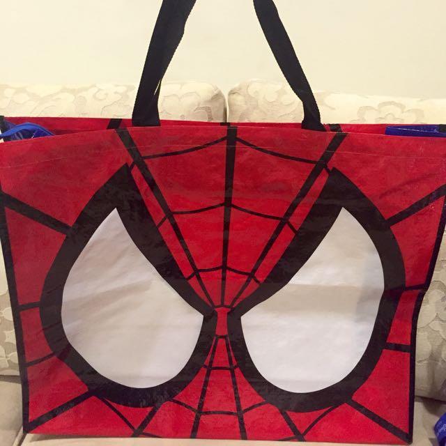 蜘蛛人 拉鍊手提袋