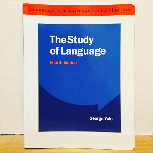(保留中)英文系語言學 The Study of Language