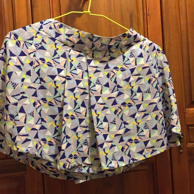專櫃BeraTwo幾何圖形短褲