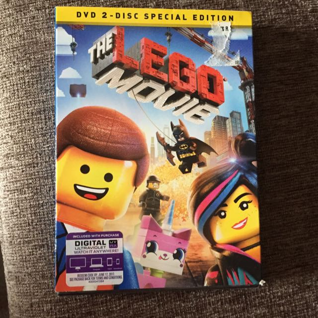 Brand New Unopened Lego Movie Dvd Everything Else On Carousell