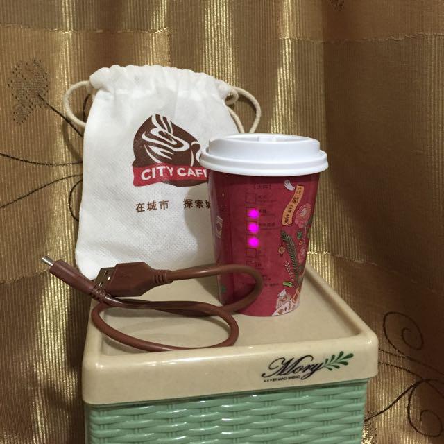 超cute City Cafe 行動電源