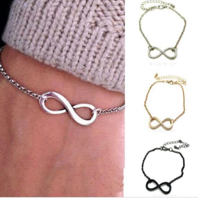Infinity Bracelet (silver)